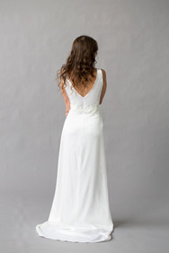 Style Vanessa Wedding Gown Back