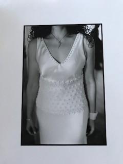Custom Design Silk Satin Wedding Gown