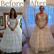 Redesign Grandmothers Wedding Gown