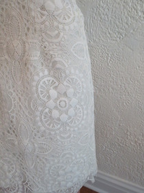 Style Megan Lace Close Up