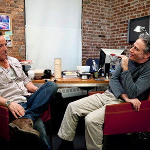 Jon Stewart Sits Down With Bruce Springsteen