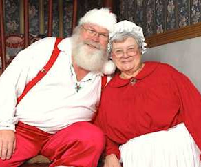Visit with Santa and Mrs. Claus in Manasquan