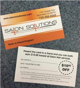 A Nice Promotion from Salon Solutions
