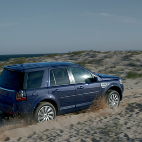 Take to the Beach in a Land Rover LR2
