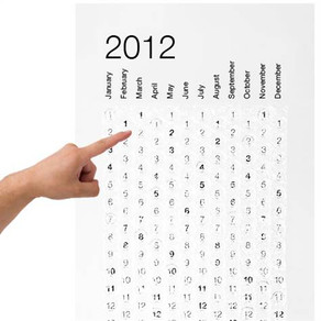 Holiday Gift Pick: 2012 Bubble Calendar