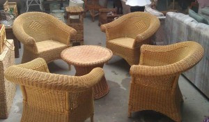 Todays Find Jersey Shore Style Wicker Set