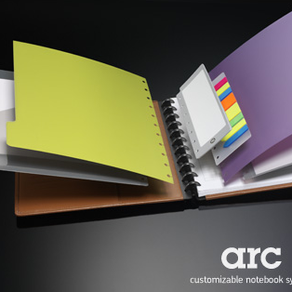 Get Organized with Arc Customizable Notebooks