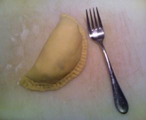 Potato, Cheese, and Onion Pasty