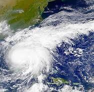 Bird's Eye View of Hurricane Irene