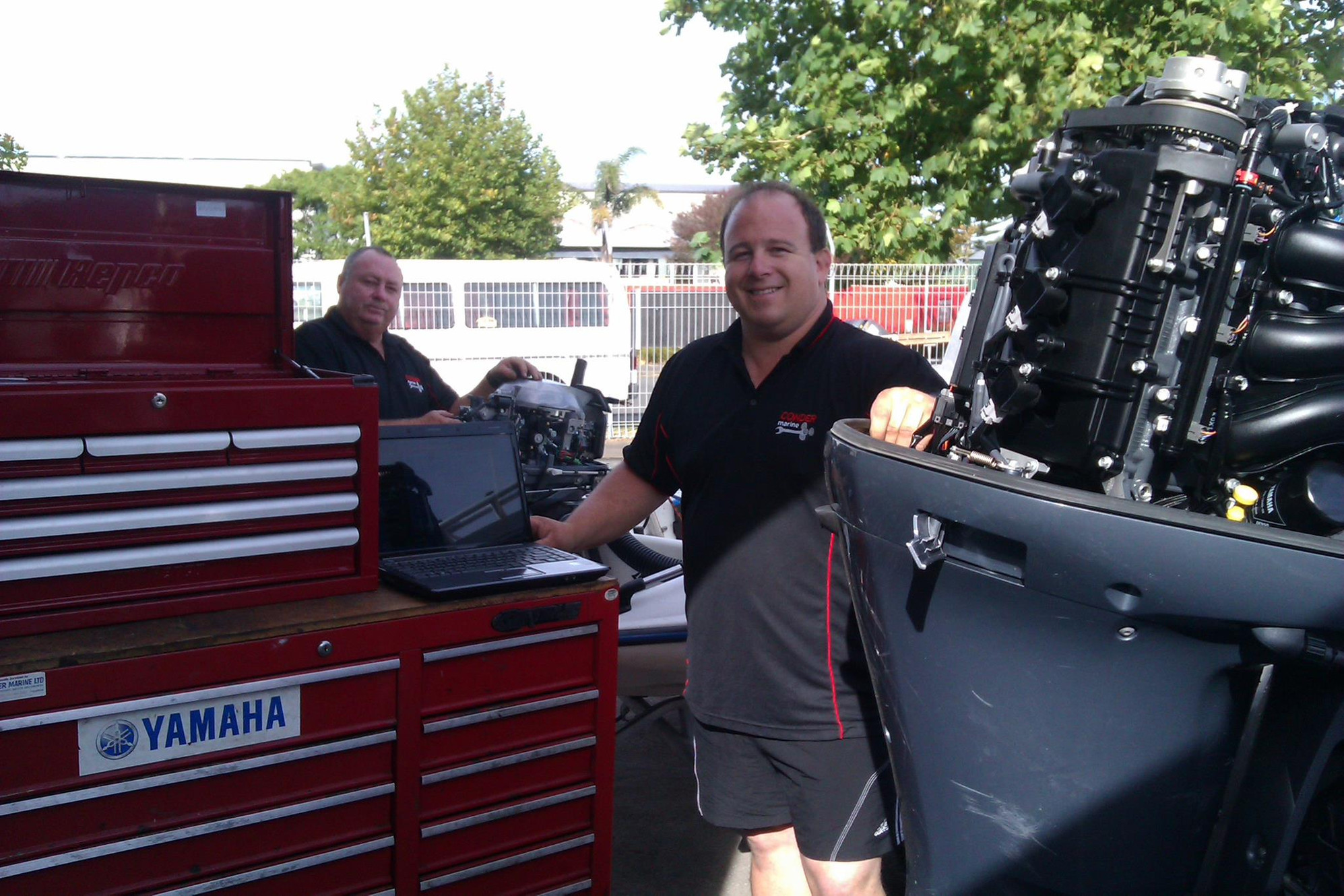 Outboard Motor Service | Bay of Plenty | Conder Marine Limited