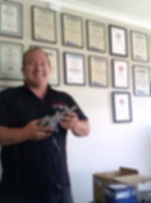 Conder Marine, Qualifications, Russell Conder, Actuator