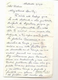 Letter from Abel Carlevaro 1971.JPG