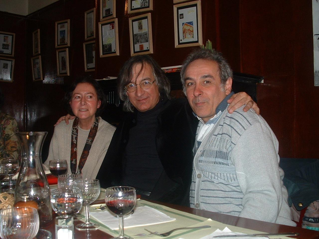 Alvaro, Ida  y Baltazar