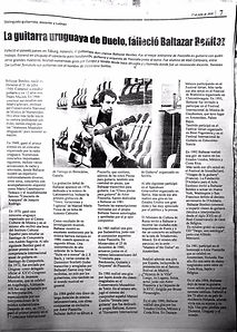 Articulo La guitarra Uruguaya de Duelo.J