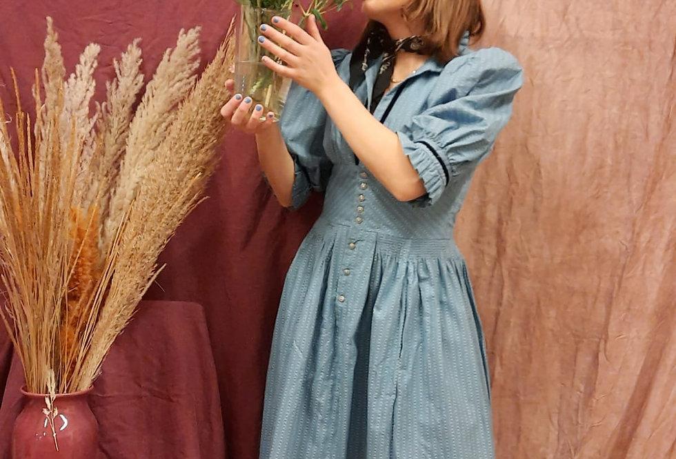 Little House on the Prairie Baby Blue Dress