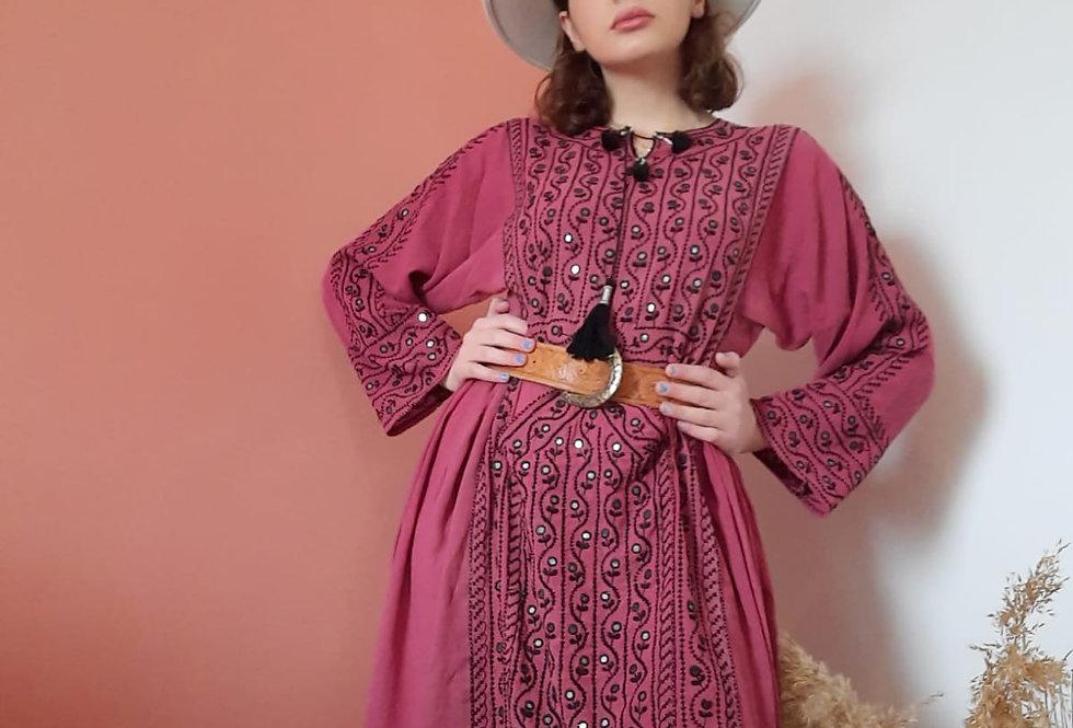 Pakistanian Balochi Dress with Mirrors
