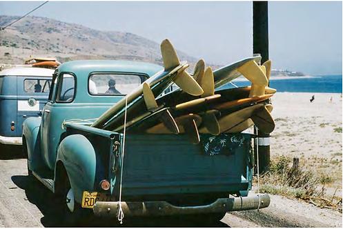 Granny's Truck on Explorer Scout Trip, Leo Carrillo State Beach, California