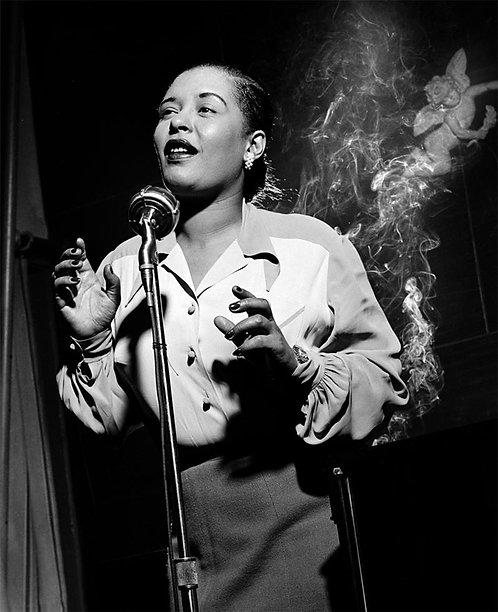 Billie Holiday, NYC, New York, 1949