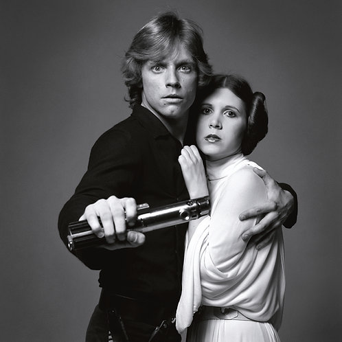 Mark Hamill and Carrie Fisher, Star Wars