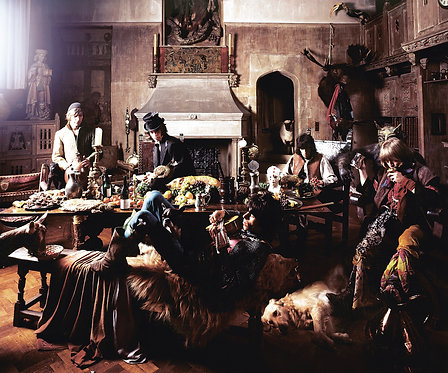 "Rolling Stones-Beggar's Banquet ""Dogs into Camera"""""