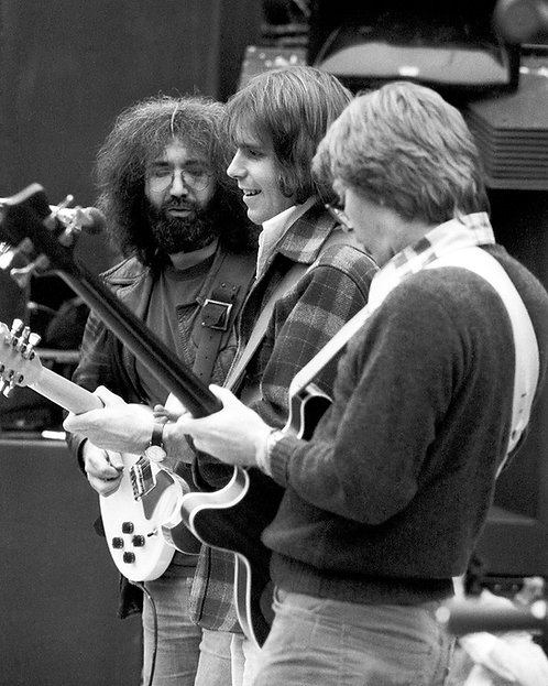 Jerry Garcia, Bob Weir & Phil Lesh