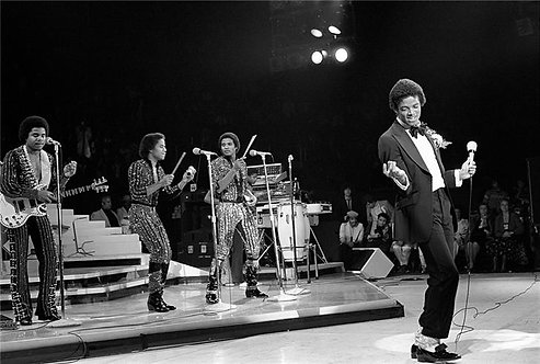 "Michael Jackson with The Jacksons, ""Destiny Tour"""
