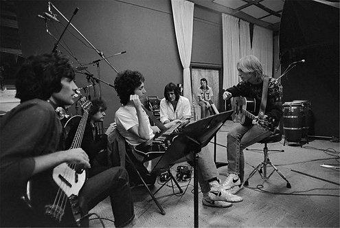 Tom Petty in Studio