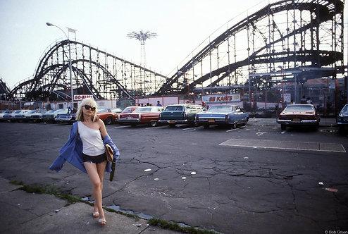Debbie Harry at Coney Island
