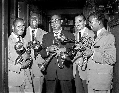 Dizzy Gillespie, Quincy Jones, Joe Gordon, E.V. Perry
