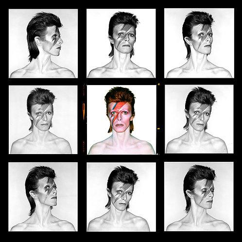 David Bowie-Aladdin Sane (contact sheet)