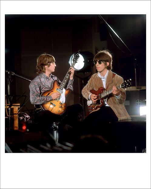John Lennon & George Harrison, The Beatles