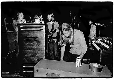 Allman Brothers backstage