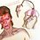 Thumbnail: Bowie Ziggy Stardust Bolt Stained Glass