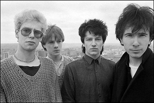 U2 on rooftop