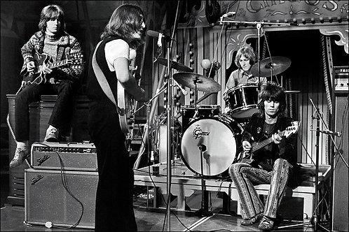The Dirty Mac, Eric Clapton, John Lennon, Mitch Mitchell and Keith Richards, Lon