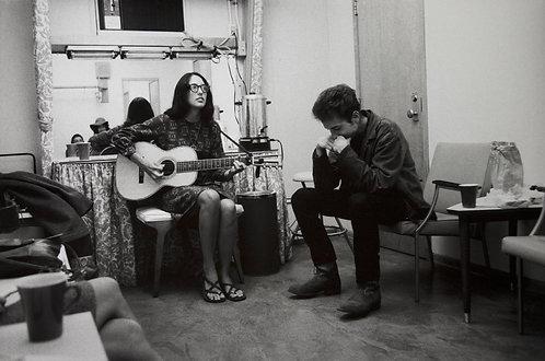 Bob Dylan & Joan Biaz