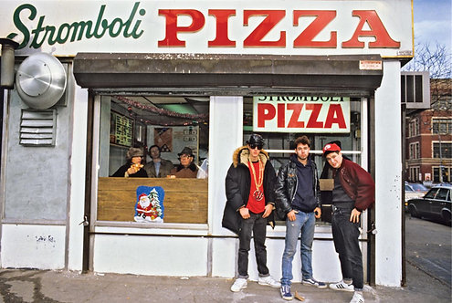 Beastie Boys, Stromboli Pizza NYC 1987