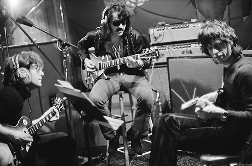 John Lennon, Mick Jagger & Tex Gabriel