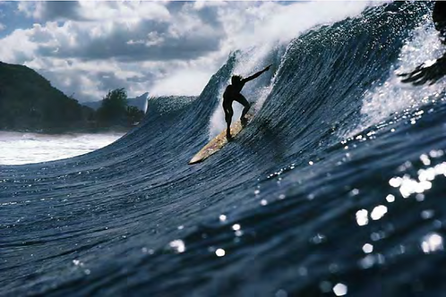 Rory Russell, Pipeline, Oahu, 1972