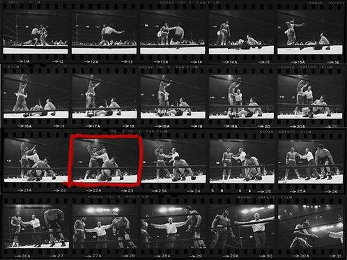 Muhammad Ali vs. Oscar Bonavena Contact Sheet