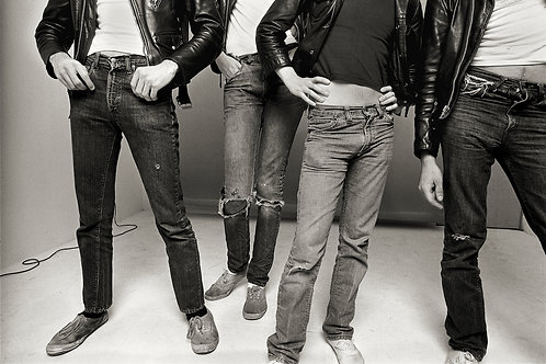 """The Ramones, Los Angeles, 1977, """"Jeans and Keds"""""""