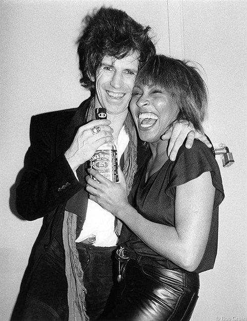 Keith Richards & Tina Turner