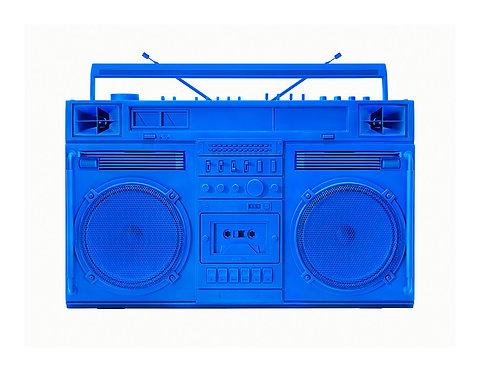 Blue Boombox