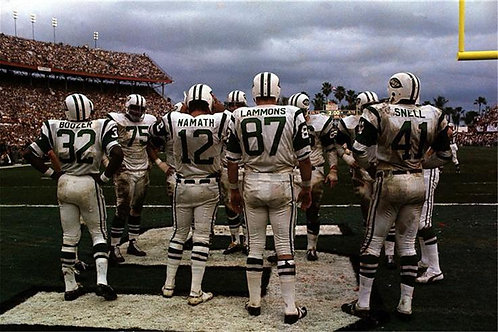 New York Jets vs Baltimore Colts, Super Bowl III, Orange Bowl Stadium, Miami, 19
