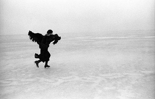 Joni Mitchell skating