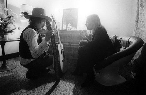 Bob Dylan and Joni Mitchell