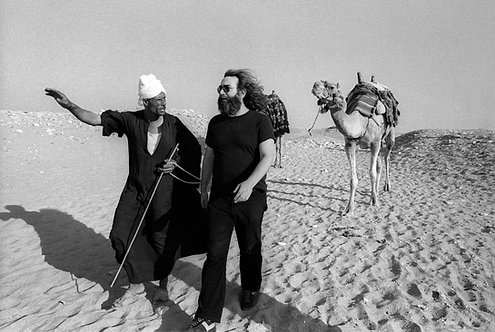 Jerry Garcia with guide
