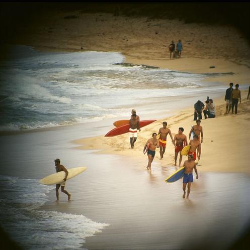 Duke Contest Finalists, Sunset Beach, 1968