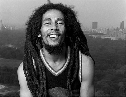Bob Marley, Essex House, New York City, 1980