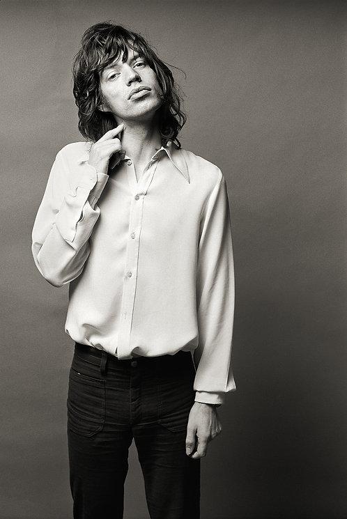 Mick Jagger, Los Angeles, CA, 1972
